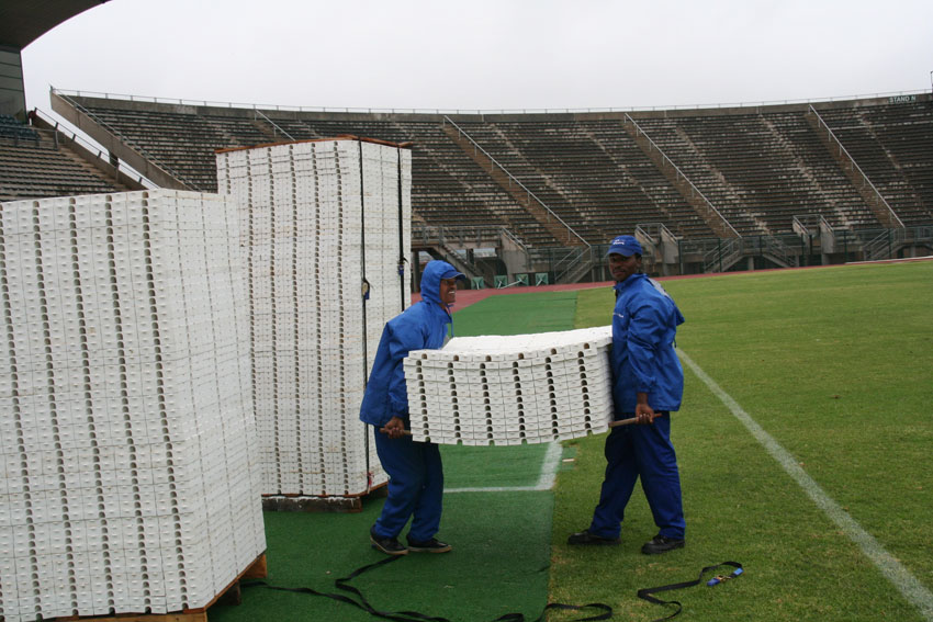 turf pitch protection flooring