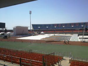 stadium exhibition flooring for sale