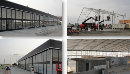 Droneport Solutions - Rapid deployable, Modular Relocable buildings
