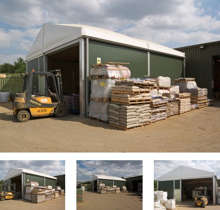 Droneport Solutions - warehousing - storage solutions - portable